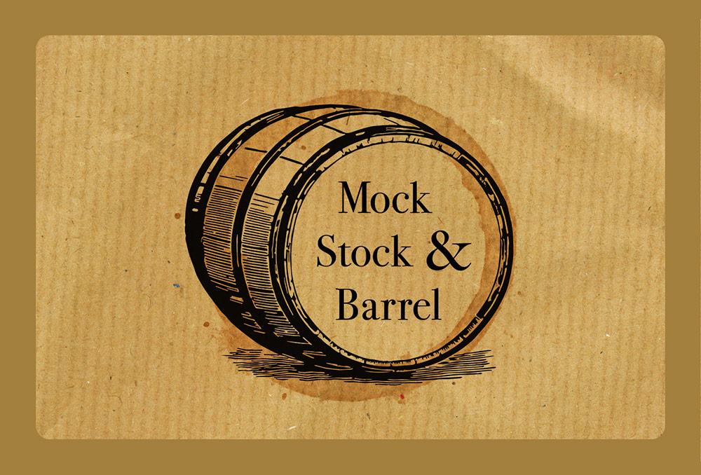 Mock Stock n Barrel Logo