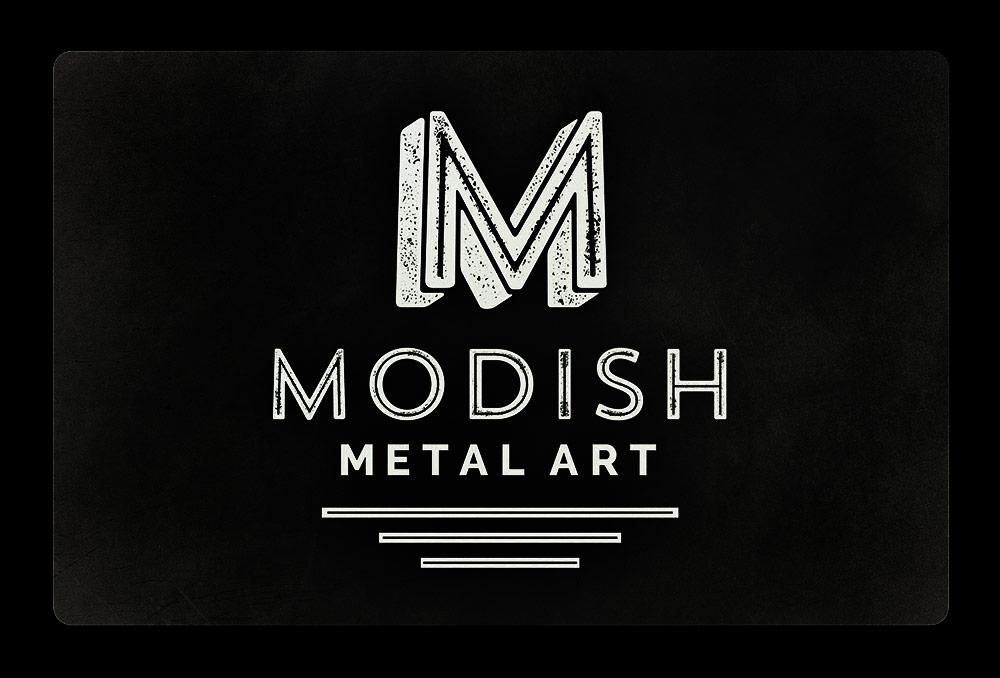 Modish Metal Art Logo