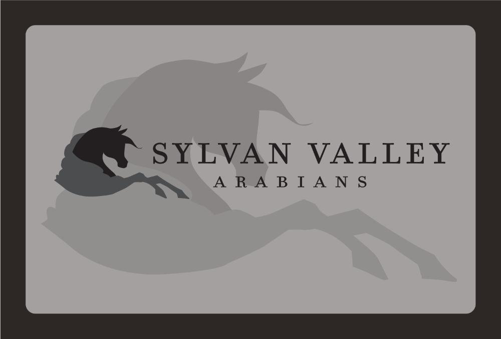 Sylvan Valley Arabians Logo