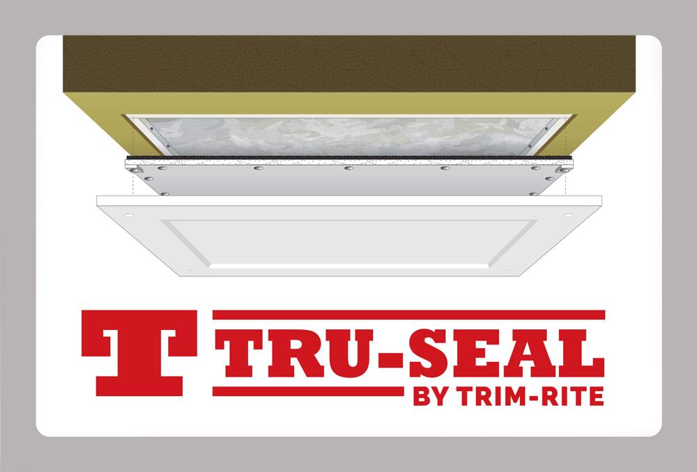 Tru-Seal Logo & Infographic